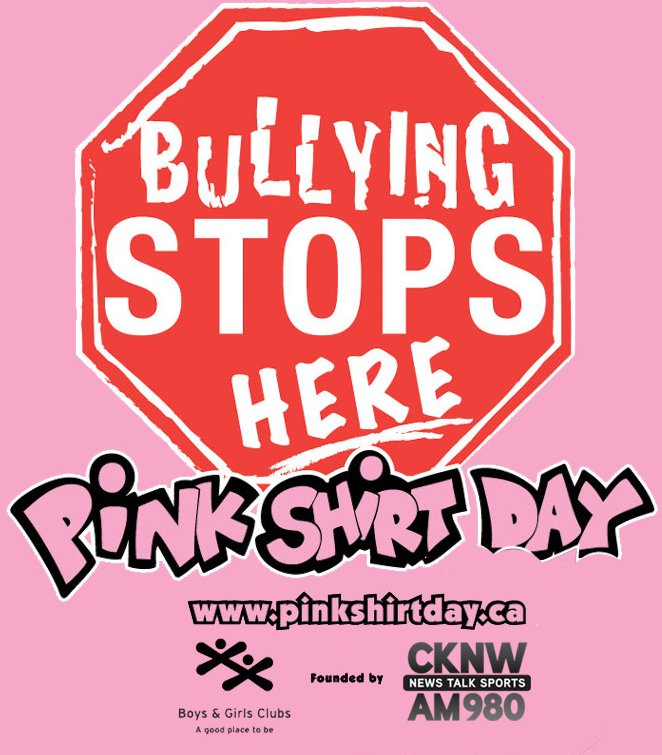 Pink Shirt Day (@pinkshirtday) | Twitter