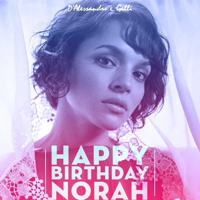 Happy birthday to Norah Jones!