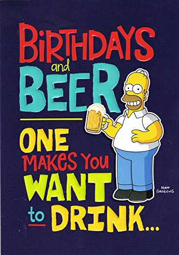 Homer Simpson On Twitter Homer Simpson Birthdays And Beer Birthday