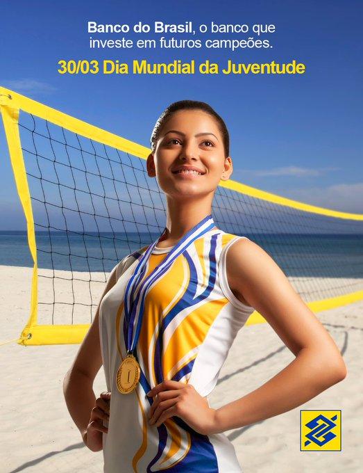O @BancodoBrasil reconhece a importância dos novos atletas brasileiros. E apoiar a juventude é investir em novos campões! 🏆🏅#BBnosEsportes