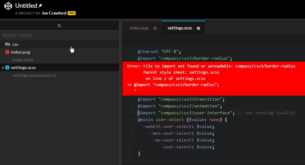 Select In Codepen