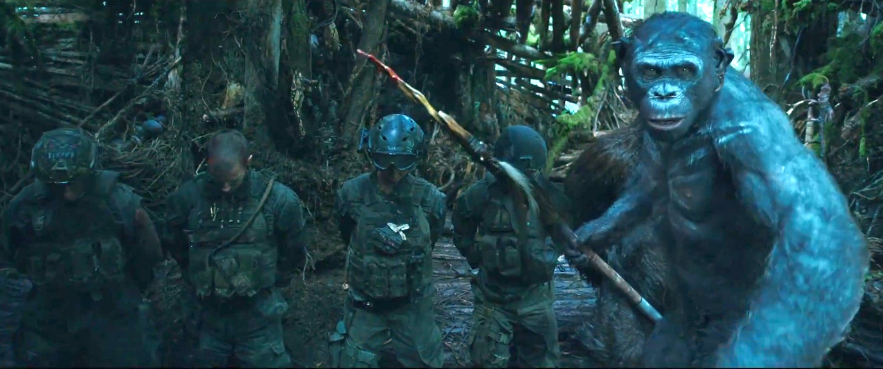 New War for the Planet of the Apes Trailer Revealed