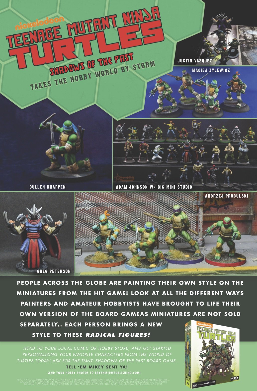 Hobby Store San Diego >> Idw Games در توییتر Idw Games And Tmnt Announces Tmnt