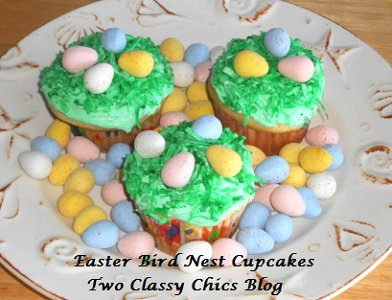 Easter Theme'd Cupcakes Inspired by HERSHEY'S