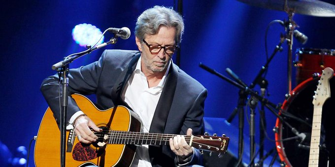 Happy 72nd birthday to musician, Eric Clapton!