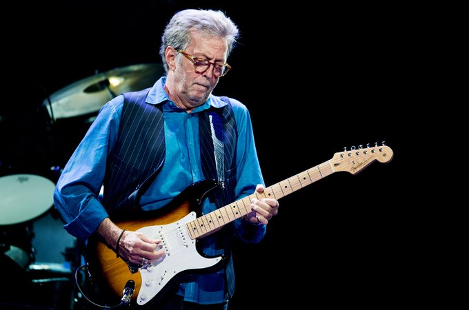 Happy Birthday to rock and blues legend, Eric Clapton, who performed in Charlotte on April 2, 2013!!