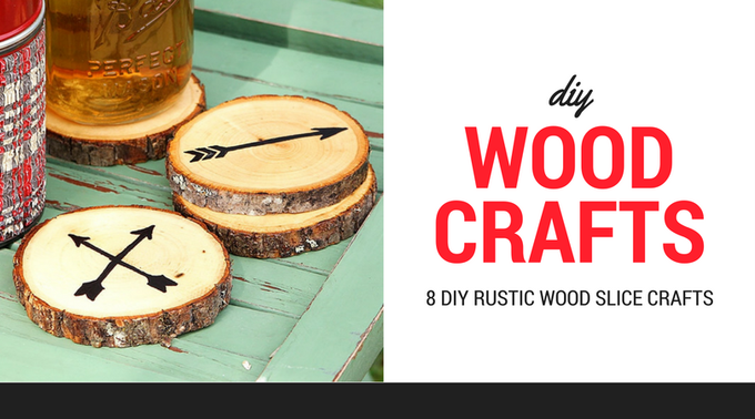 Charming DIY Rustic Crafts Using Wood Slices
