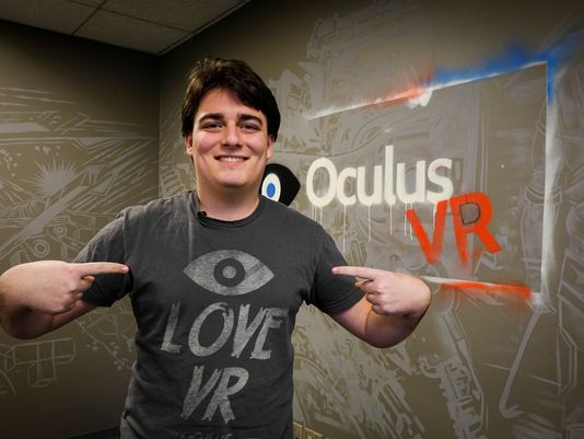 Oculus co-founder Palmer Luckey departs Facebook • Eurogamer.net