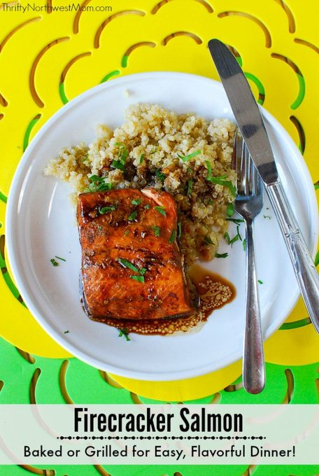 Firecracker Salmon Recipe – Perfect for Grilling, Camping & More!