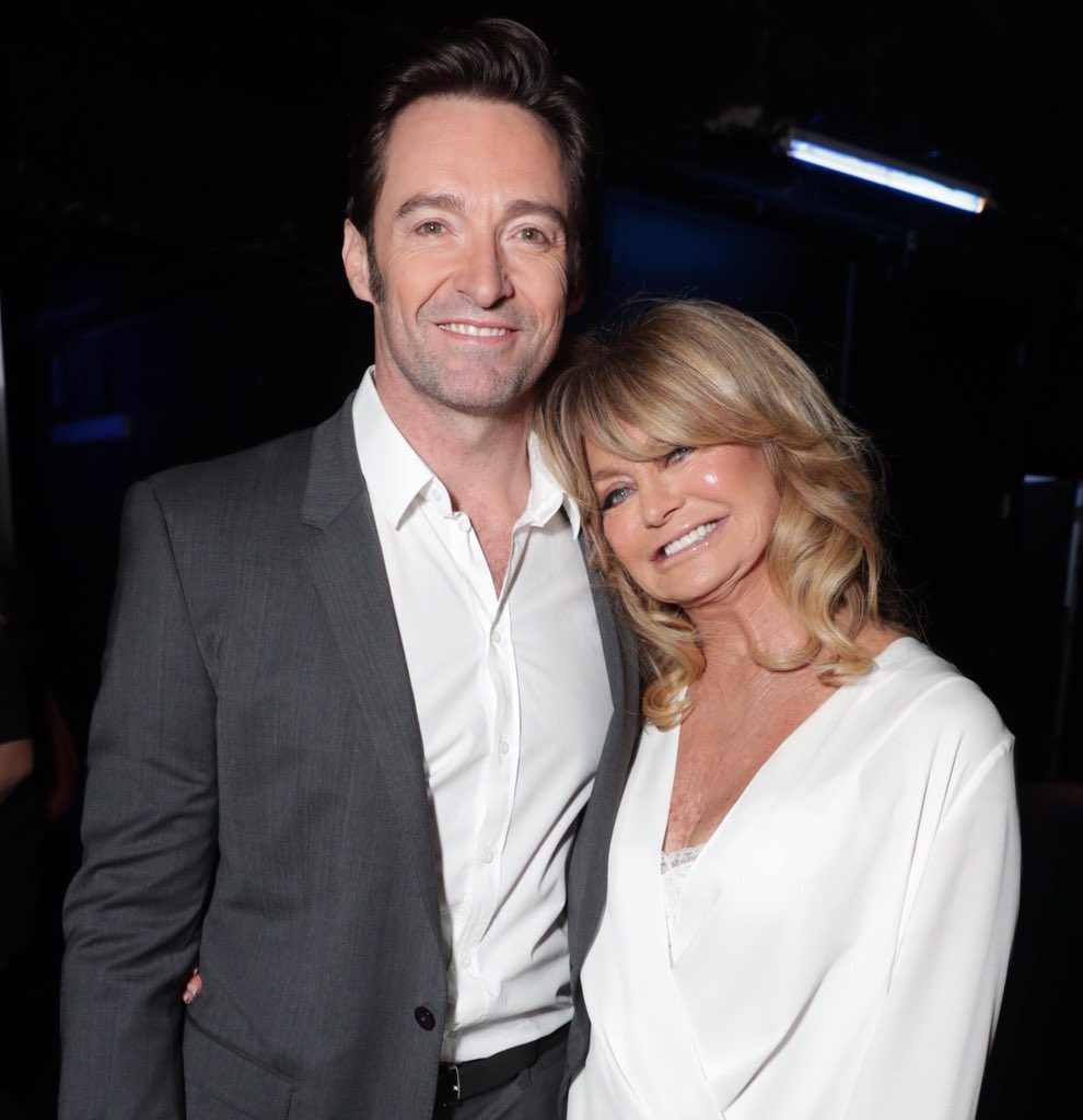 As if she needs an introduction. The gorgeously smart, funny and always generous @goldiehawn https://t.co/RTw2CJQ5dr