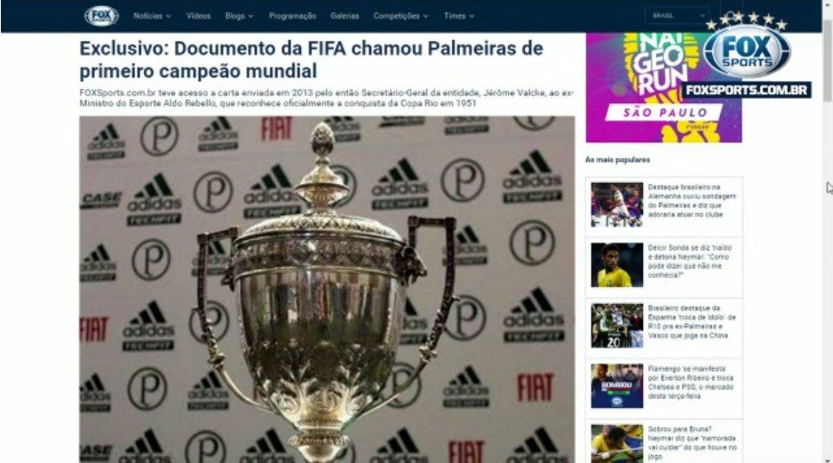 bd689dbd3a  Copa do Mundo de Clubes   PVC explica polêmica de Fifa