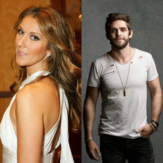 Happy Birthday to Céline Dion & Thomas Rhett!
