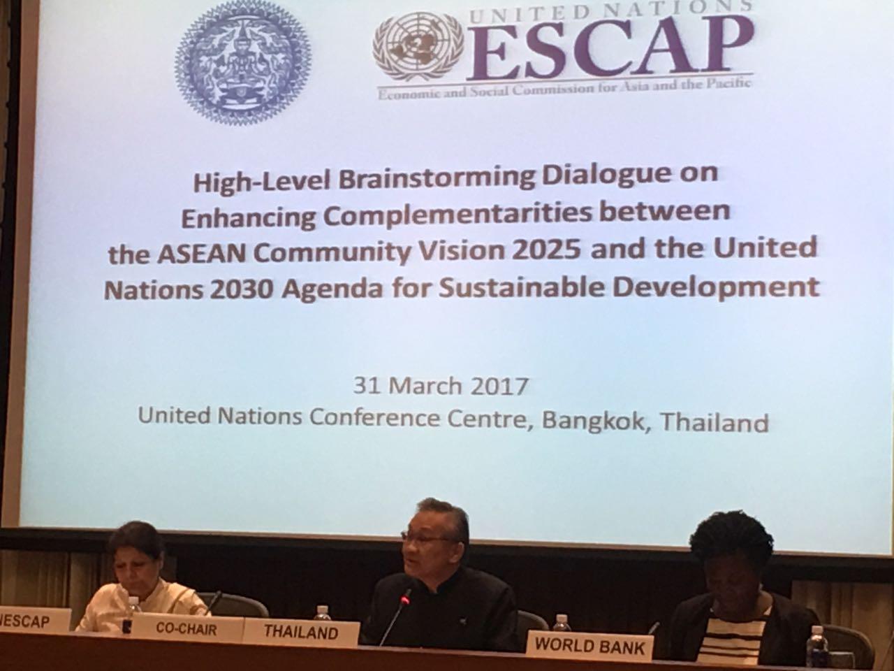 Through our #partnership, I'm convinced that we can achieve our goals together - Thai Foreign Min Don Pramudwinai #ASEAN2025 #2030Agenda https://t.co/ar5ksvfwfZ