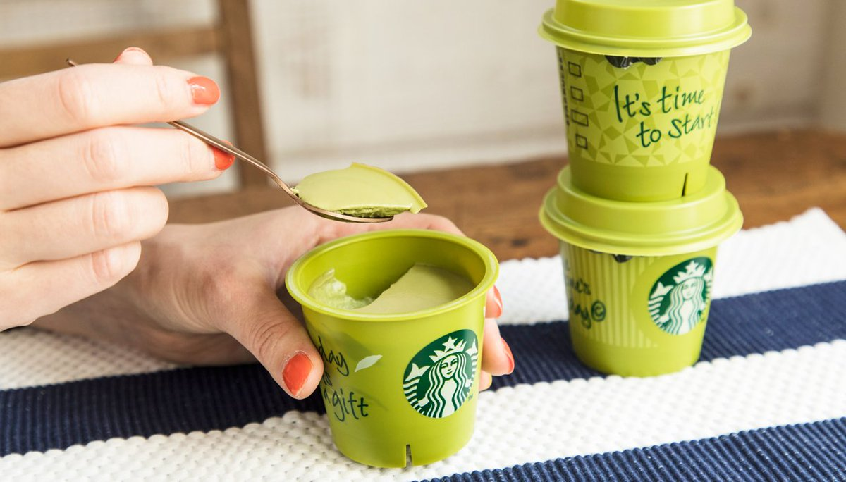 4/1から「抹茶プリン」がお店に並びます。なめらかな舌触りと濃厚な抹茶の味わい。明日からの登場をお楽しみに! https://t.co/k1aZxy93qd