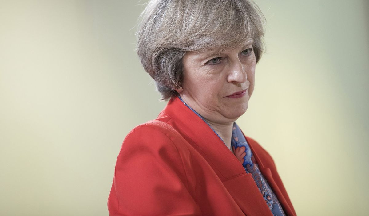 Image result for theresa may gets personal