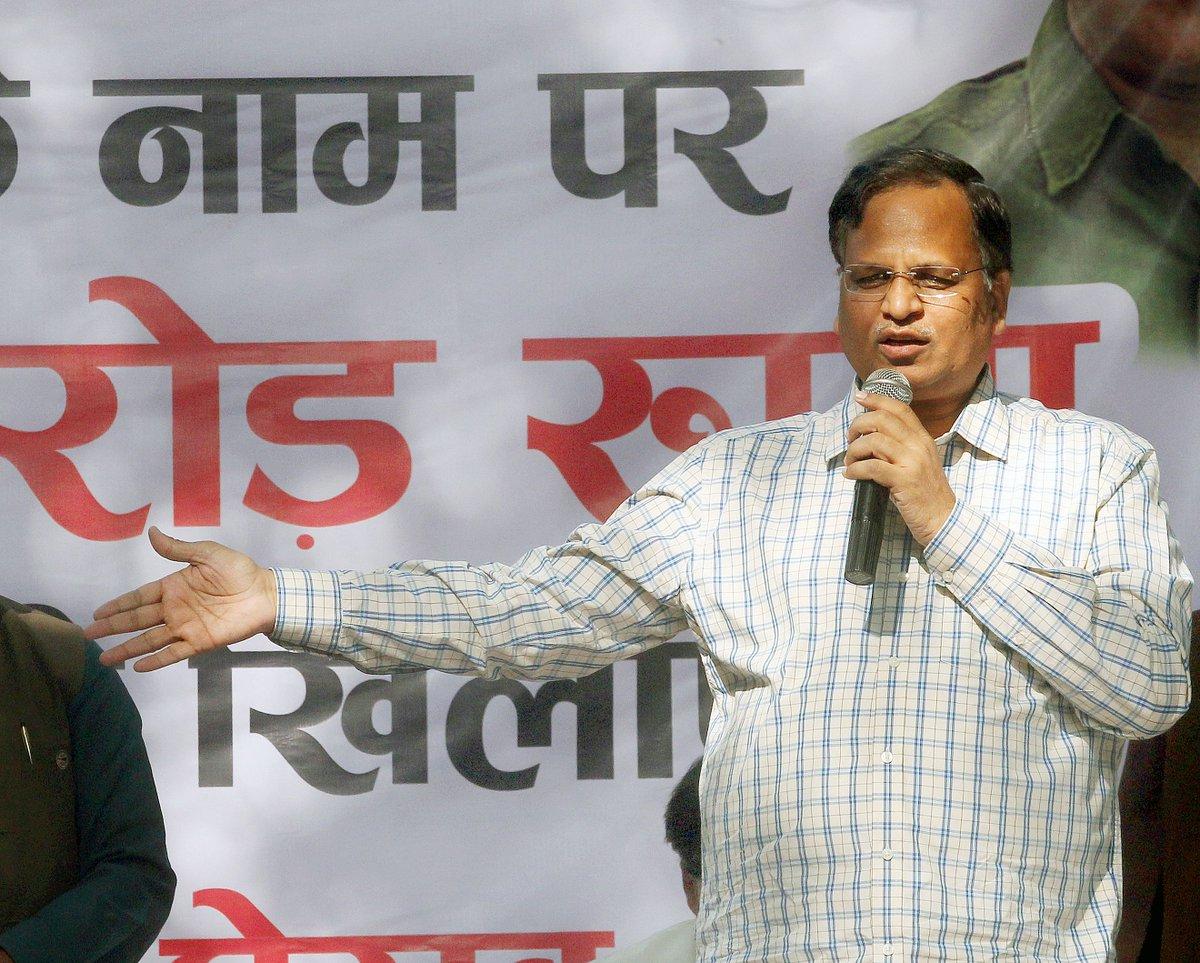 Income Tax attaches several 'benami' properties of Delhi minister Satyendra Jain under Prohibition of Benami Property Transactions Act