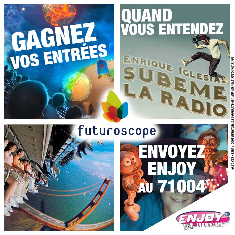 #Kdos offerts ce #Vendredi #aprem sur #Enjoy33 #radio #Bordeaux !!! #RT<br>http://pic.twitter.com/6n685iZhnn