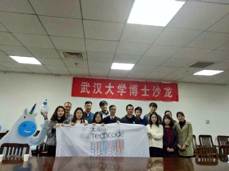 "#TechcodeWuhan was invited to attendthe #entrepreneurialsalon in #WuhanUniversity.The sharing of one ""incubee"" got great reflection.#startup<br>http://pic.twitter.com/C8oe2o8Ulb"