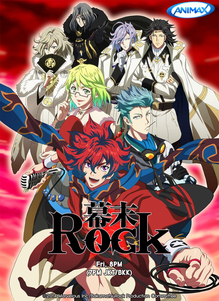 Ryoma Sakamoto Bakumatsu Rock