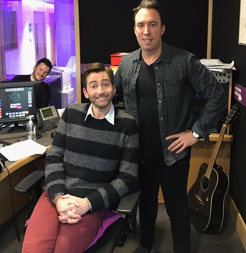 David Tennant on Absolute Radio - 31st March 2017