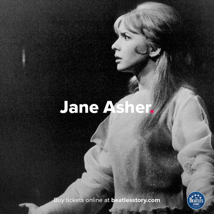 Jane Asher was born on this day in 1946. Happy birthday Jane!