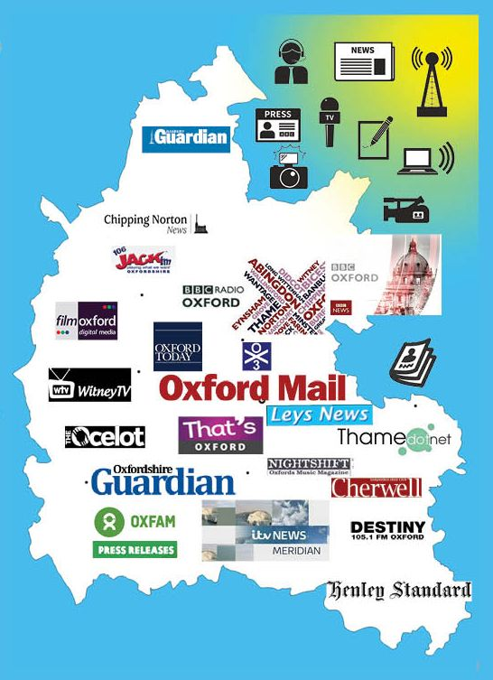 At the end of this #LocalNewsMatters week, we're giving a shout out to everyone working in Oxon's dynamic diverse local news media https://t.co/xYuN4nu0Xs