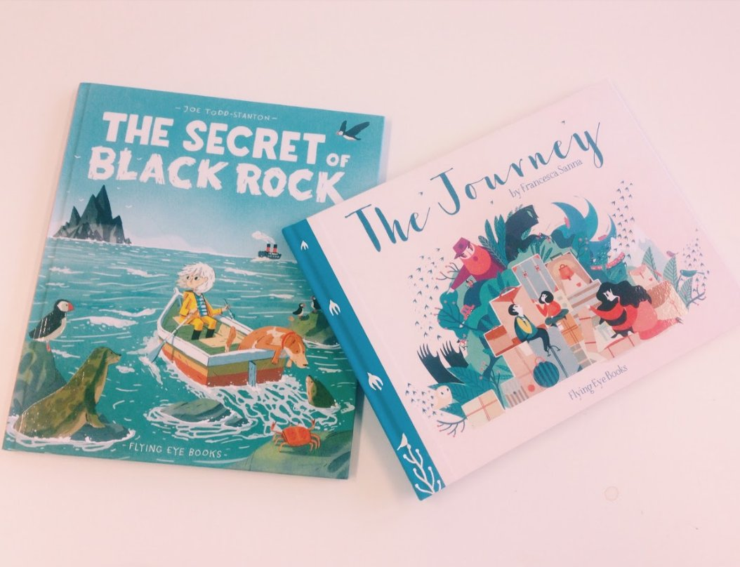 We've got two signed copies of beautiful @FlyingEyeBooks picture books to give away - RT and follow us to win!