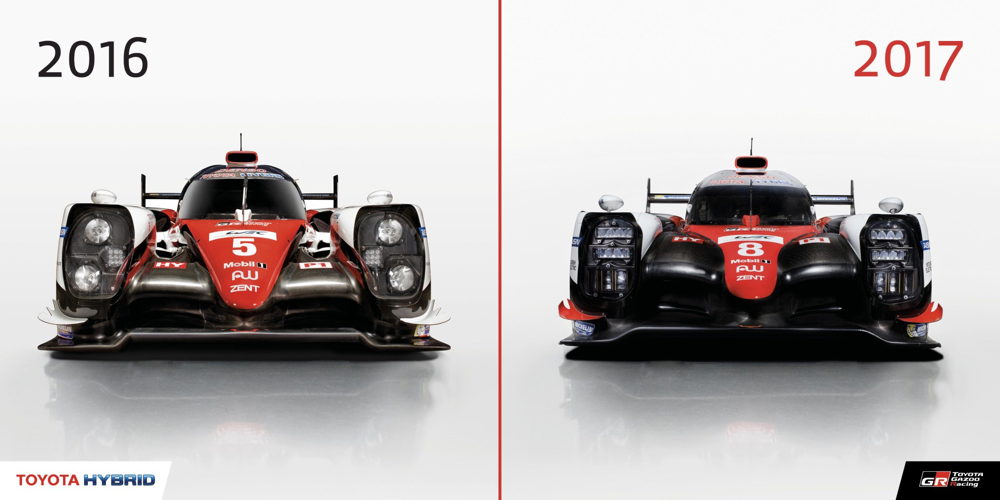 toyota gazoo racing wec on twitter almost all parts of the 2017 ts050 hybrid have been. Black Bedroom Furniture Sets. Home Design Ideas
