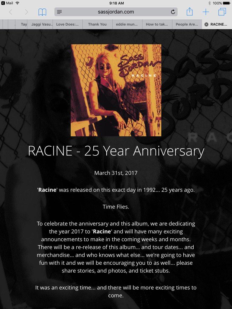 Check it out - Racine 25th Anniversary News!https://t.co/C9nHjqTQm5 Time to celebrate! https://t.co/RBHklZuGwU