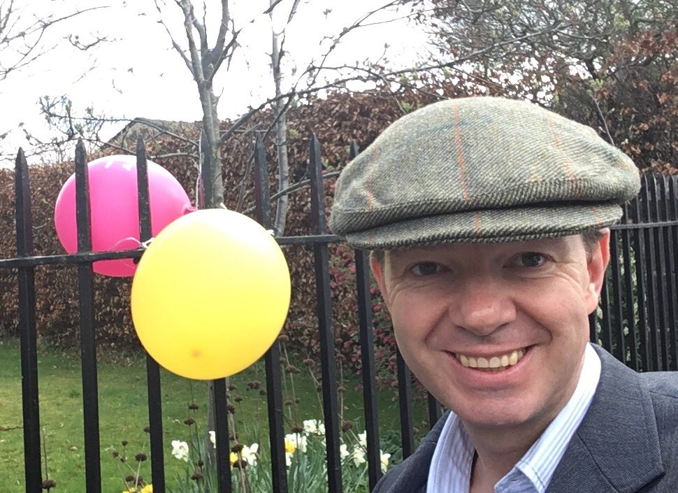 Hat 2 today in #wylam as we embrace #WearAHatDay -  I have a big scar but I am a grateful survivor https://t.co/YOMZ6K3Dw3