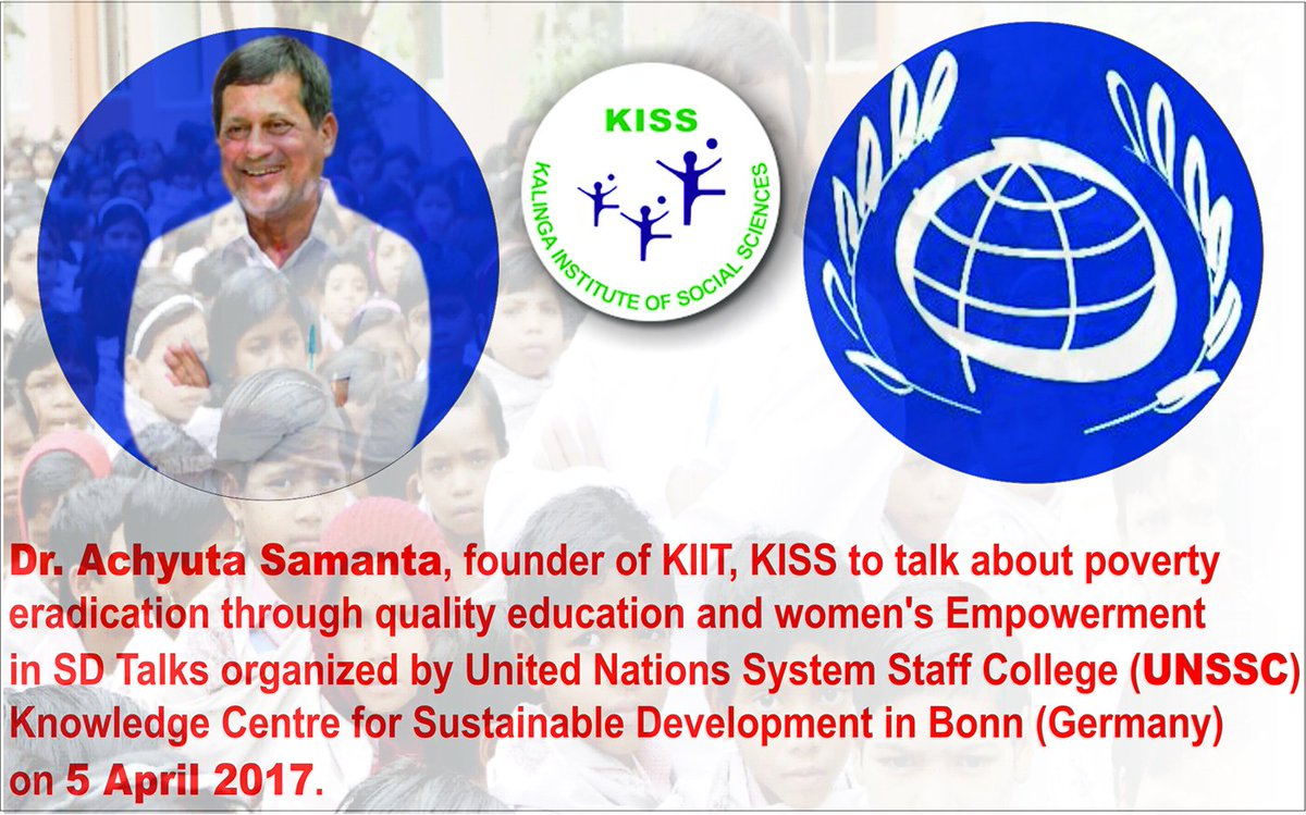 kiit on topsy one dr achyutasamanta founder of kiit kiss to talk about poverty