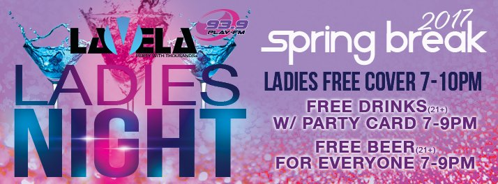 FREE COVER For Ladies 7 10p + FREE BEER For Everyone 21+ 7 9p! Also Teen  Glow Party In The Darkroompic.twitter.com/XUnsV6MIpH