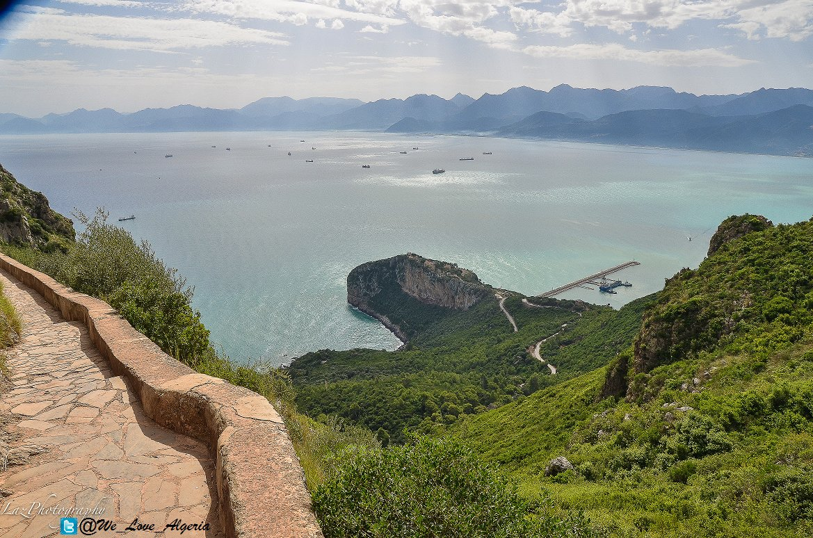 amazing view from Gouraya national park #Bejaia <br>http://pic.twitter.com/BOUEbColCA