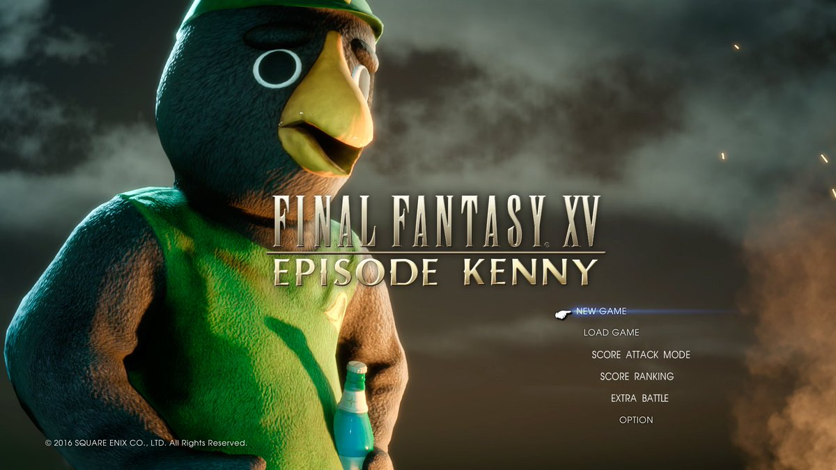 final fantasy xv on twitter breaking news dlc episode kenny