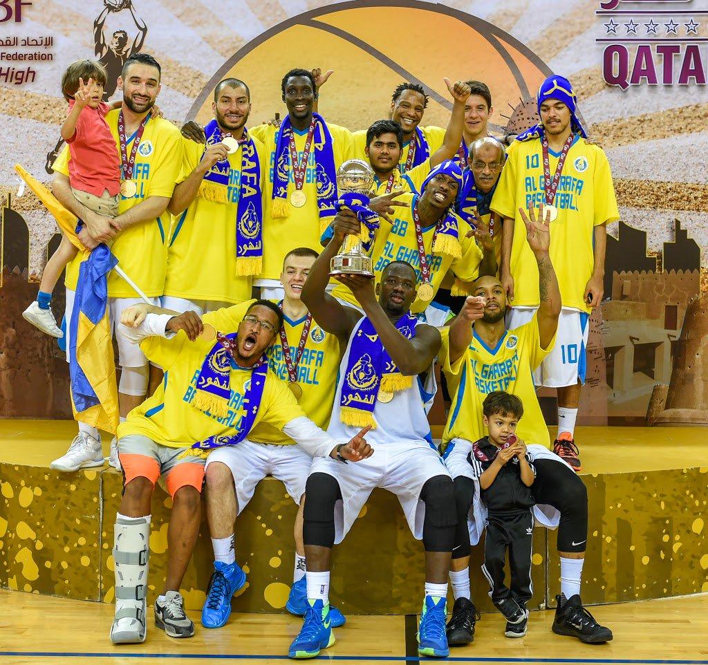 الغرافة يتوج بلقب كأس قطر لكرة السلة للمرة الثالثة في تاريخه