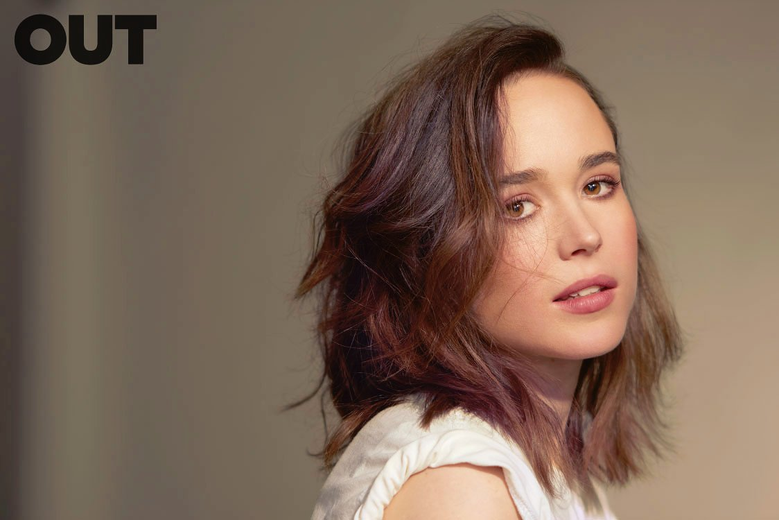 Twitter Ellen Page nude photos 2019