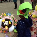 More fantastic hats from the Easter Bonnet Parade.  Looking forward to the last parade later on the afternoon.