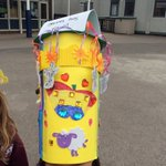 One of the winning hats from the Year 2 Easter Bonnet Parade.  All money raised going to the Bishop of Southwark's Lent Call @SouthwarkCofE.