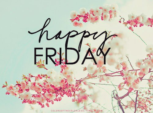 Itd On Twitter Happy Friday Enjoy Your Day And Your Weekend