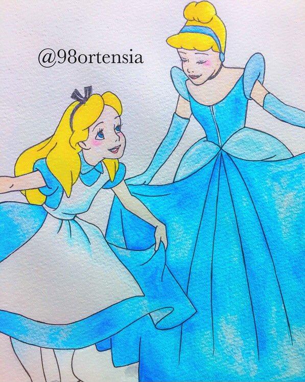 Kazane En Twitter わたしたちはよく似てるね 金髪にブルーの