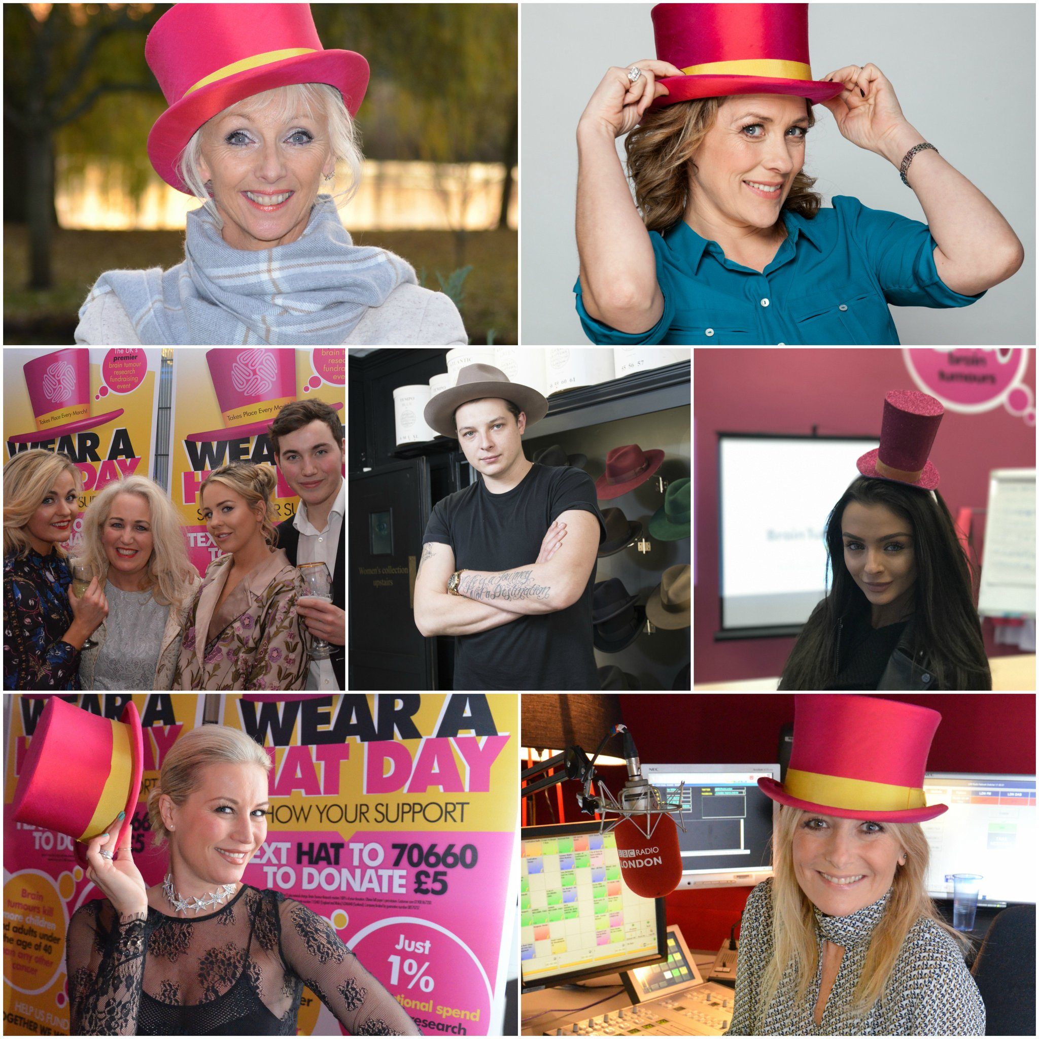 A massive thank you to our celebrity ambassadors, who have done such a great job raising awareness of #WearAHatDay. https://t.co/tUxrkxBByQ