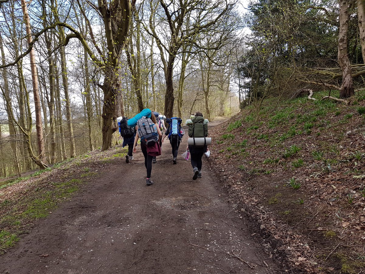 Rodillian students on their DofE practice expedition. Thankfully the weather has held for them! #DofE #resilience