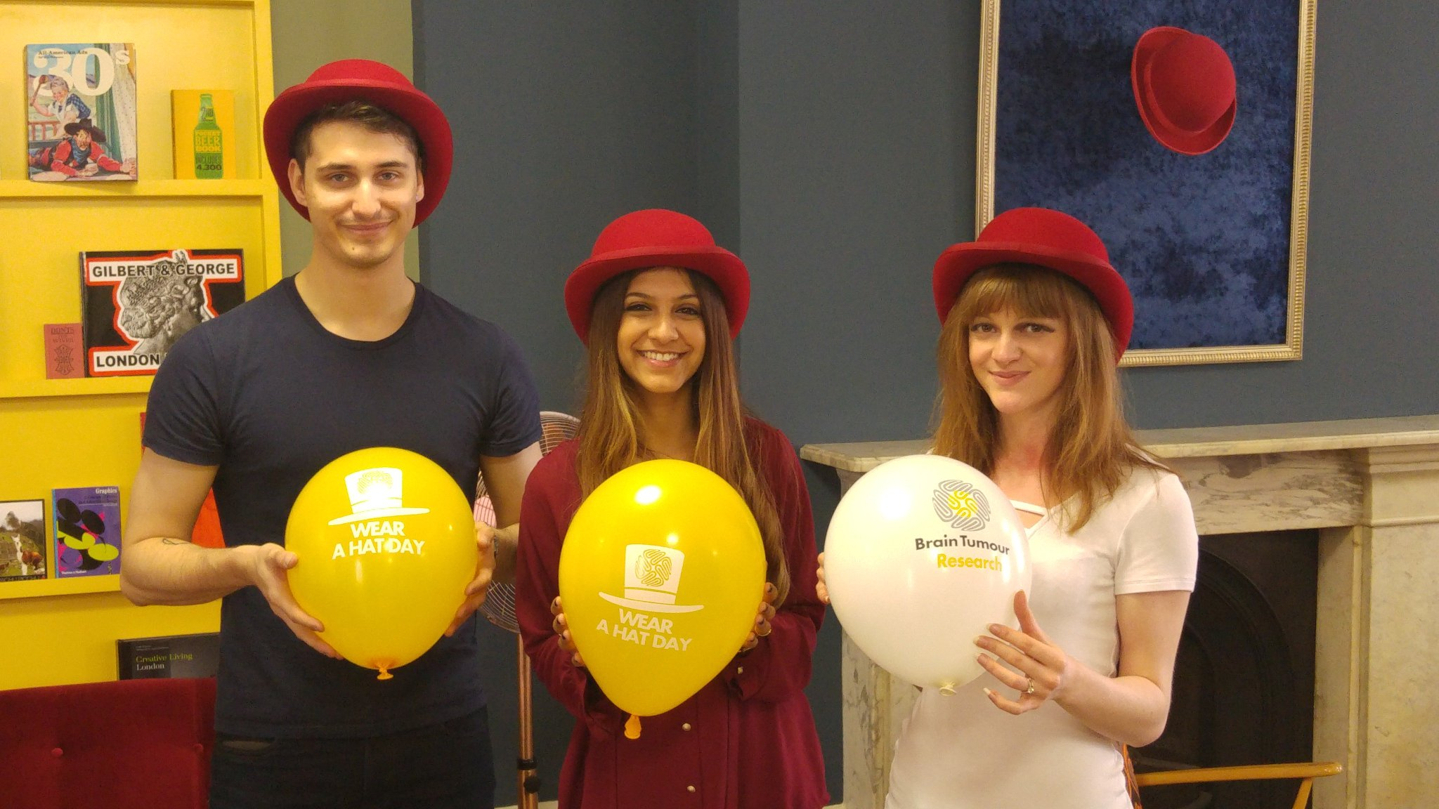 RedHat are raising money for @braintumourrsch on #WearAHatDay #Hattastic https://t.co/dXoQMxZNfH