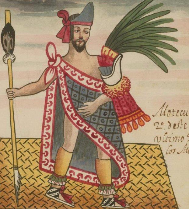 Moctezuma II, el último rey azteca. La civilización azteca perdura en la conciencia histórica mexicana: https://t.co/NaJwluqrZx https://t.co/DBKt9URxgD