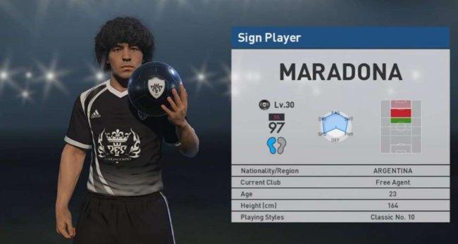 """Vidaextra on Twitter: """"Diego Armando Maradona ha descubierto al Maradona de PES 2017 y tomará medidas legales contra Konami https://t.co/zIn3Zh1d2P ..."""