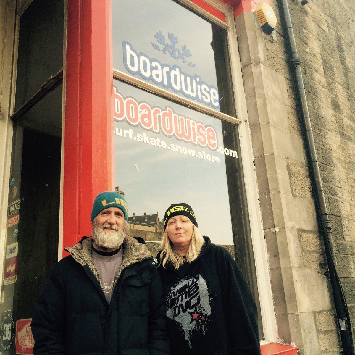 Edinburgh's @BoardwiseUK surf & snowboard shop set to bounce back after last summer's destructive fire scotsman.com/lifestyle/outd…