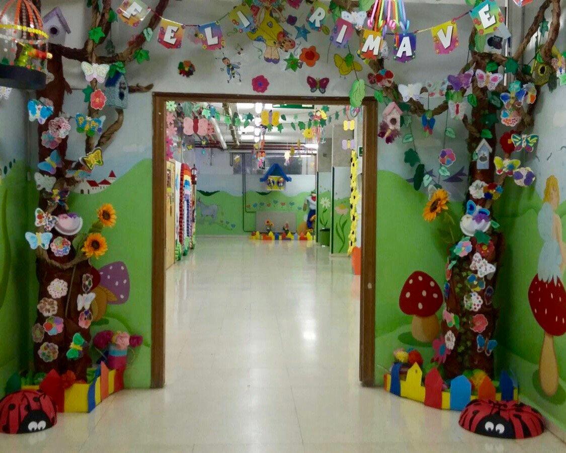 Liceo Villa Fontana On Twitter La Guardería Se Engalana