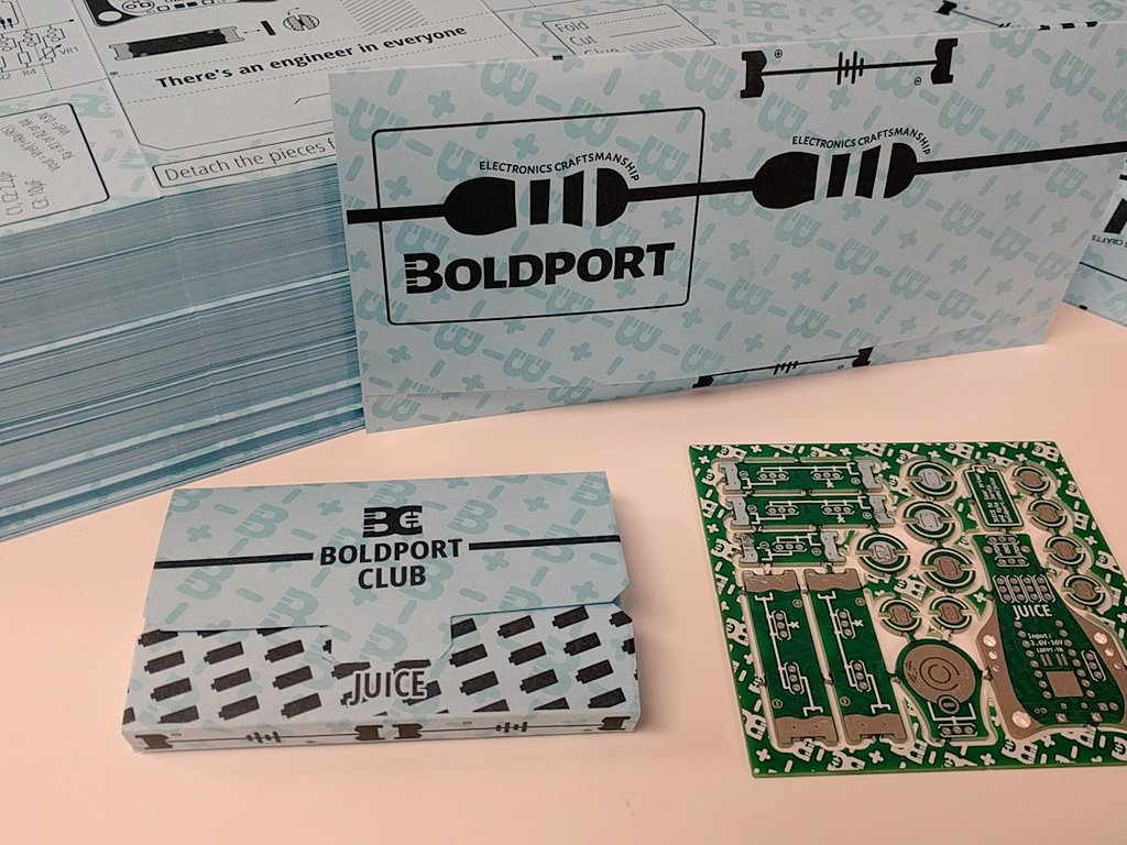 'Juice': #BoldportClub's next project. Join us