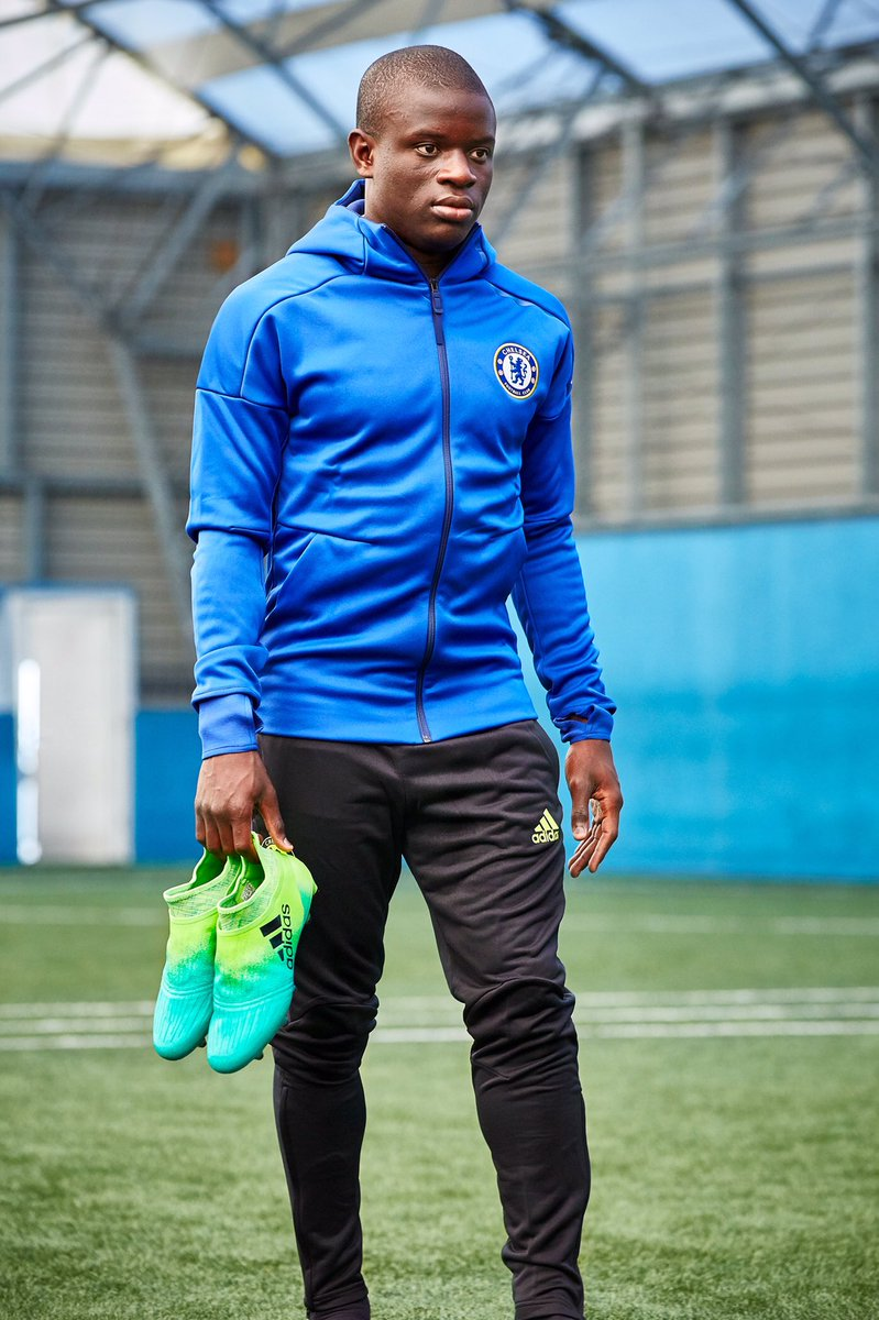 "N Golo Kanté on Twitter ""Stand up and stand out The new X16 is"