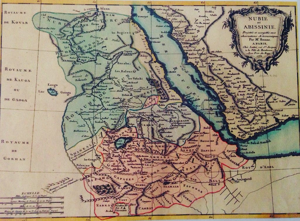 We Are Eritreans on Twitter 1771 French map depicting Eritrean